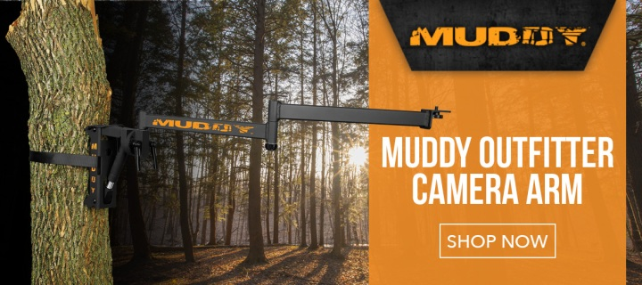 Muddy Outfitter Camera Arm Slider