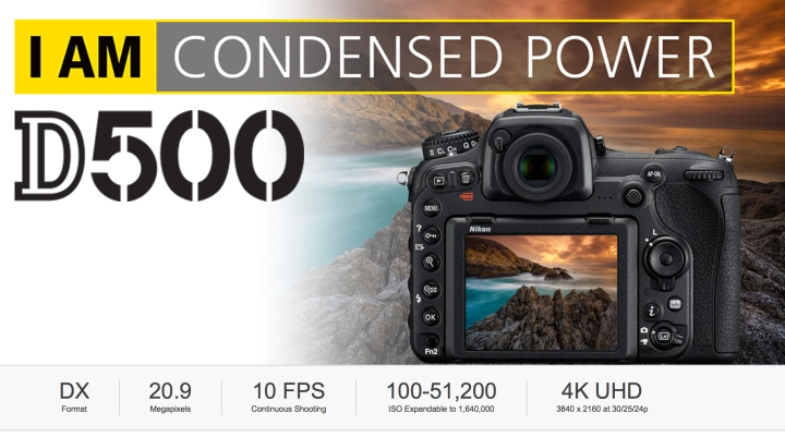 Nikon D500 header