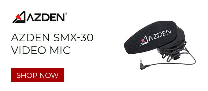 Azden SMX-30 Video Mic